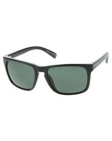 Von Zipper Lomax Black Gloss Grey Lens Sunglasses