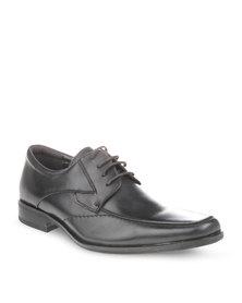 Watson Elite Peter Cow Leather Shoes Black
