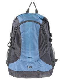 Weinbrenner Performance Men's Backpack Blue and Grey