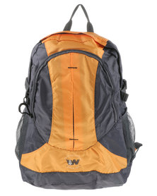 Weinbrenner Performance Men's Backpack Yellow and Grey