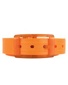 Winky Designs Classic Recyclable Plastic Belt Orange