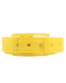 Winky Designs Classic Recyclable Plastic Belt Yellow