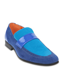 Woodcutter Rossi Loafers Blue