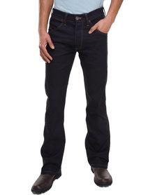 Wrangler Miles Bootleg Jeans Blue