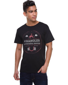 Wrangler Horsing Around Tee Black
