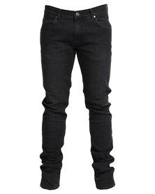 Wrangler Vegas Skinny Jeans Black