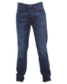 Wrangler Ben Tapered Slim Jeans Blue