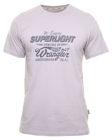Wrangler Superlight Tee Grey
