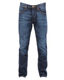 Wrangler Ben Tapered Slim Leg Jeans Blue
