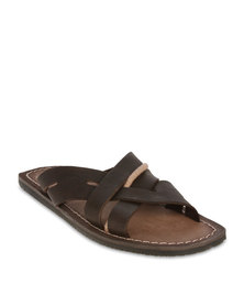 Wrangler Rambla Sandals Brown