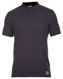 Wrangler Polo Shirt Black