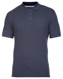 Wrangler Polo Shirt Navy