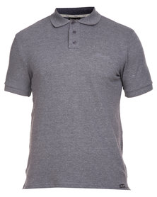 Wrangler Polo Shirt Charcoal