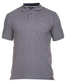 Wrangler Polo Shirt Charcoal