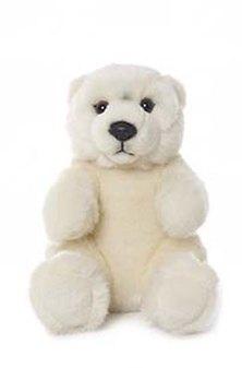 WWF Polar Bear Teddy Plush Toy