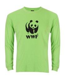 WWF Panda Long Sleeved T-shirt Green
