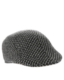 XOXO Textured Poor Boy Hat Charcoal