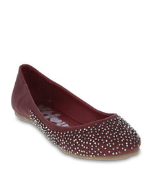 XTI Beaded Pumps Red