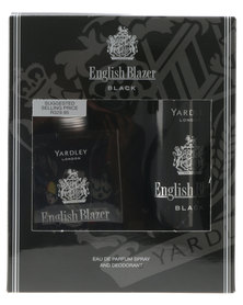 Yardley English Blazer Black 100ml Deo
