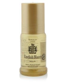 Yardley English Blazer Gold Anti-Perspirant Roll-On 50ml