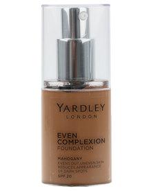 Yardley Even Complexion Foundation Mahogany