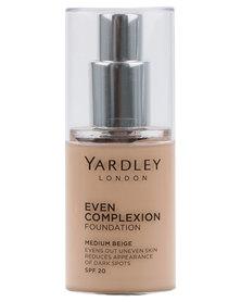 Yardley Even Complexion Foundation Medium Beige