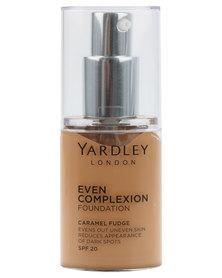 Yardley Even Complexion Foundation Caramel Fudge