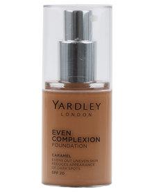 Yardley Even Complexion Foundation Caramel