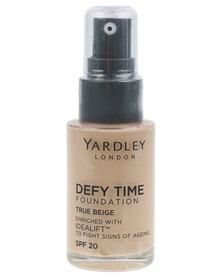 Yardley Foundation DefyTime True Beige R30 Off