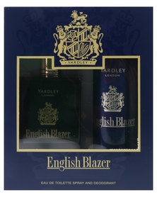Yardley English Blazer Original 100ml EDT with Free Deo