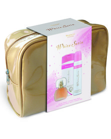 Yardley White Satin 30ml EDT & 90ml Perfume Body Spray & 250ml Hand & Body Lotion Gift Set