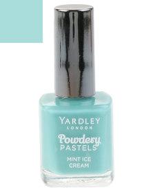 Yardley Gel Lac Nail Polish Mint Ice Cream Limited Edition