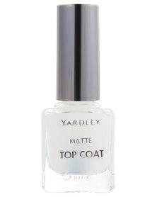 Yardley Matt Nail Polish Top Coat