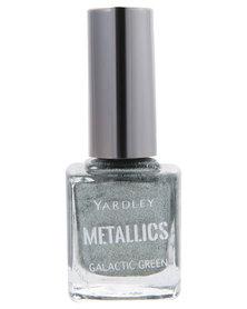 Yardley Metallic Nail Polish Galaxy Green