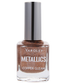 Yardley Metallic Nail Polish Copper Gleam