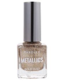 Yardley Metallic Nail Polish Gold Dust