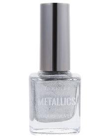 Metallic Nail Polish Liquid Silver