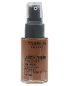 Yardley Foundation Defy Time Cinnamon R30 OFF