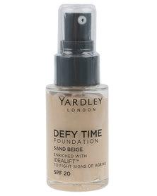 Yardley Foundation Defy Time Sand Beige R30 OFF