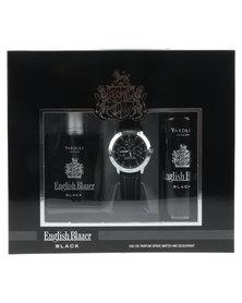 Yardley English Blazer Black EDP Deo and Watch