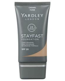 Yardley Stayfast Foundation Caramel Fudge R30 Off