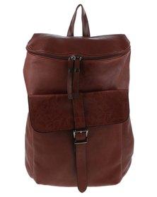 YOYO Minimalist Backpack Brown