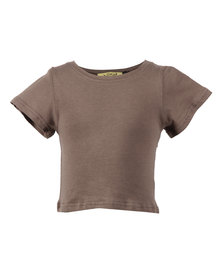 Zillycat Bow T-Shirt Taupe