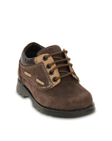 Zillycat Interlace Lace Up Shoes Brown