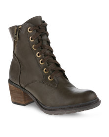 Zoom Missi Ankle Boots Brown