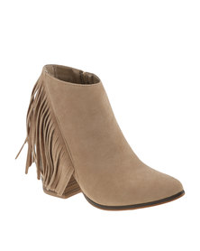 ZOOM Exclusive Desirae Ankle Boots Stone