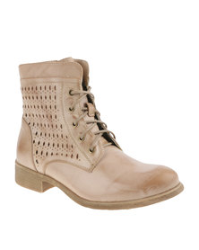ZOOM Libby Boots Stone