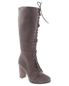 Zoom Alannah Boots Grey