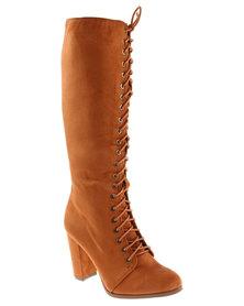 Zoom Alannah Boots Chestnut