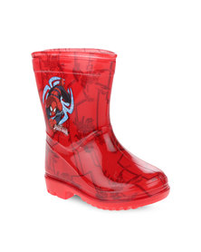 Zoom Spiderman Rain Boots Red